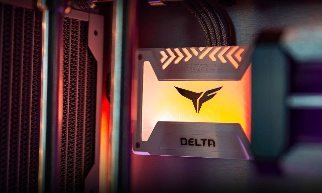 Dysk SSD T-Force Delta RGB Podświetlenie