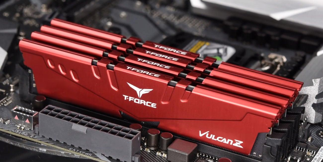 T-Force Vulcan Z - Moduły w płycie głównej