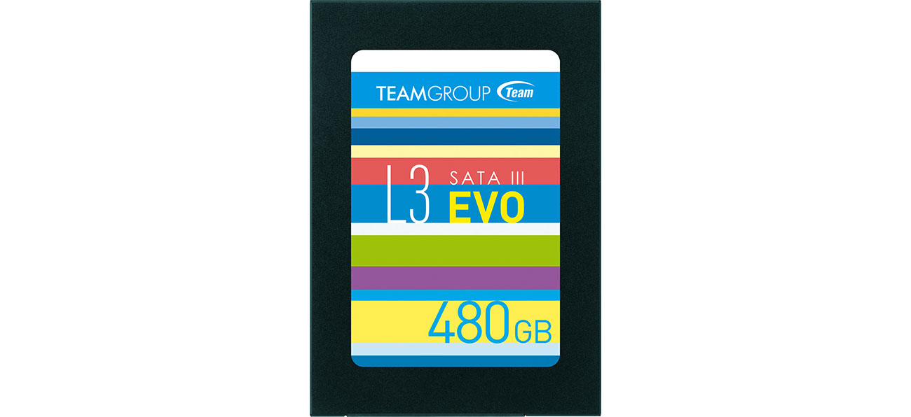 Dysk SSD Team Group 480GB 2,5'' SATA SSD L3 EVO T253LE480GTC101