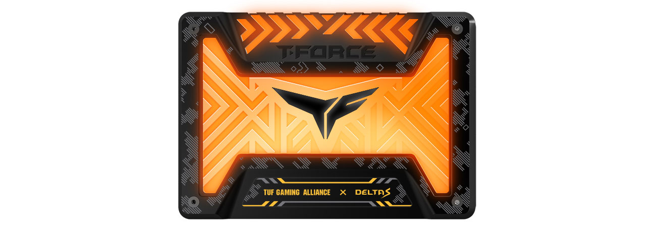 Dysk SSD Team Group 500GB 2,5'' SATA Force Delta S TUF RGB