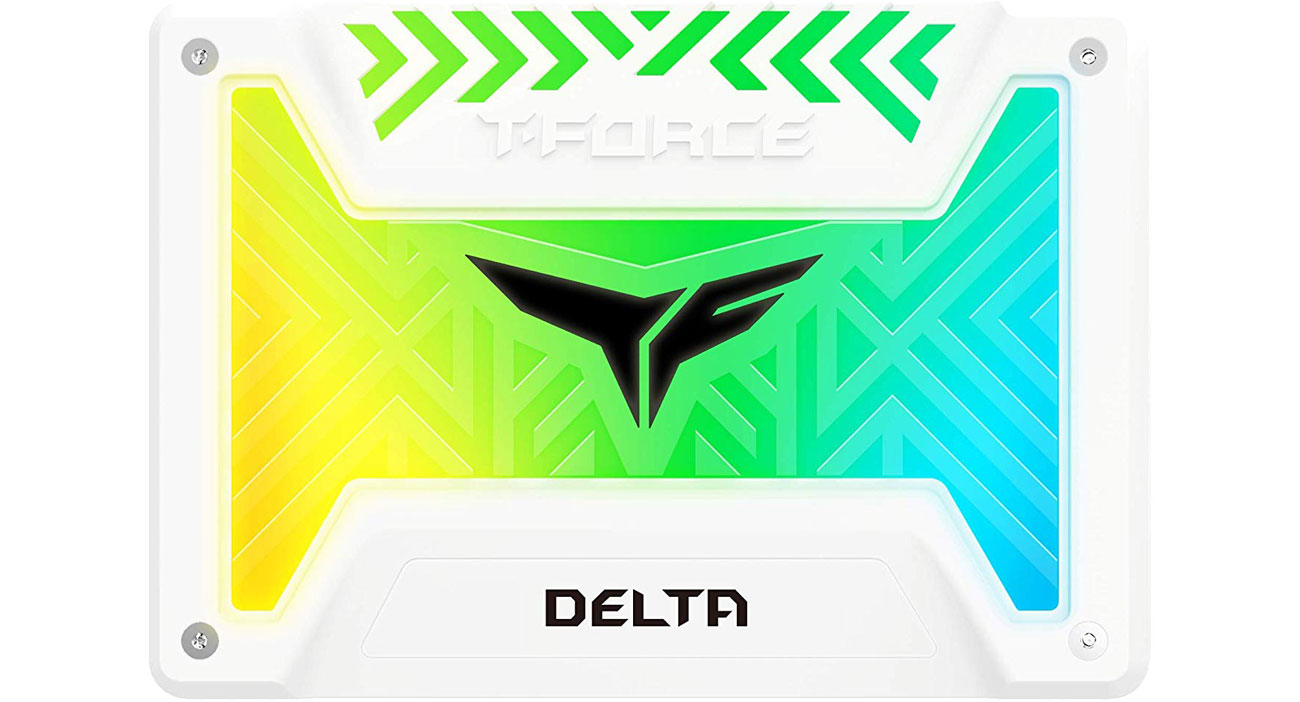 Dysk SSD Team Group 500GB 2,5'' T-Force Delta RGB White