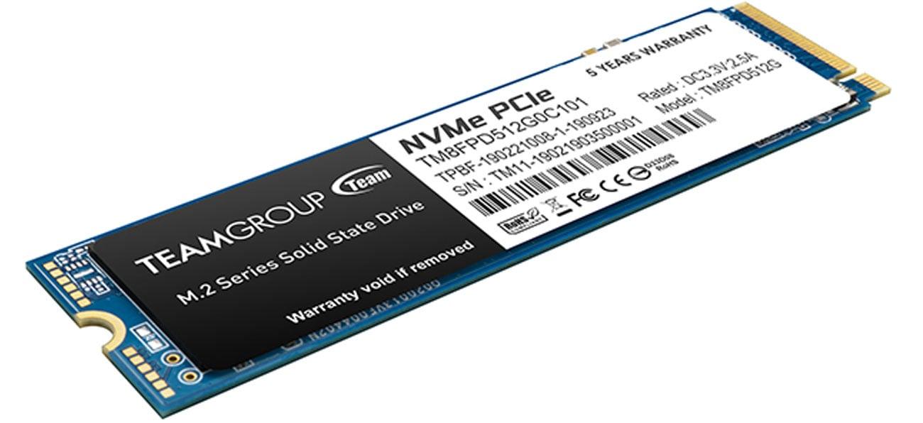 Dysk SSD M.2 Team Group MP33 Pro 512GB PCIe Gen3