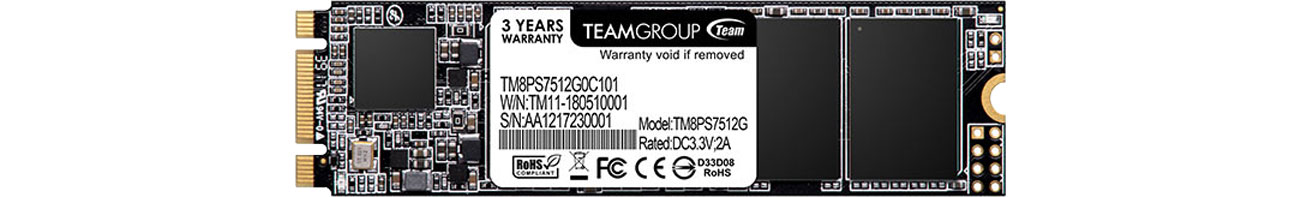 Dysk SSD Team Group 512GB M.2 2280 MS30 TM8PS7512G0C101