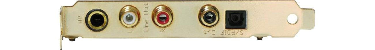 Tempotec Serenade PCI-E Złącza