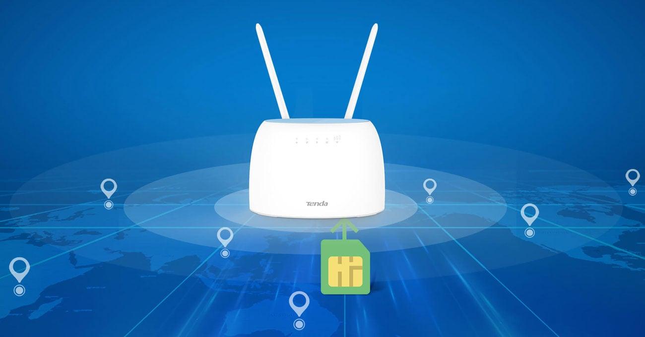 Router Tenda 4G09 WiFi 1200Mbps (LTE Cat.6 300/50Mbps)