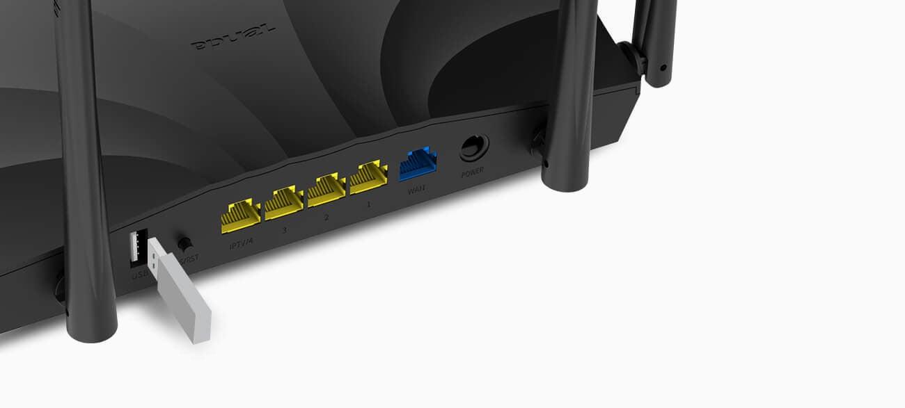 Router Tenda AC19 (2100Mb/s a/b/g/n/ac) DualBand