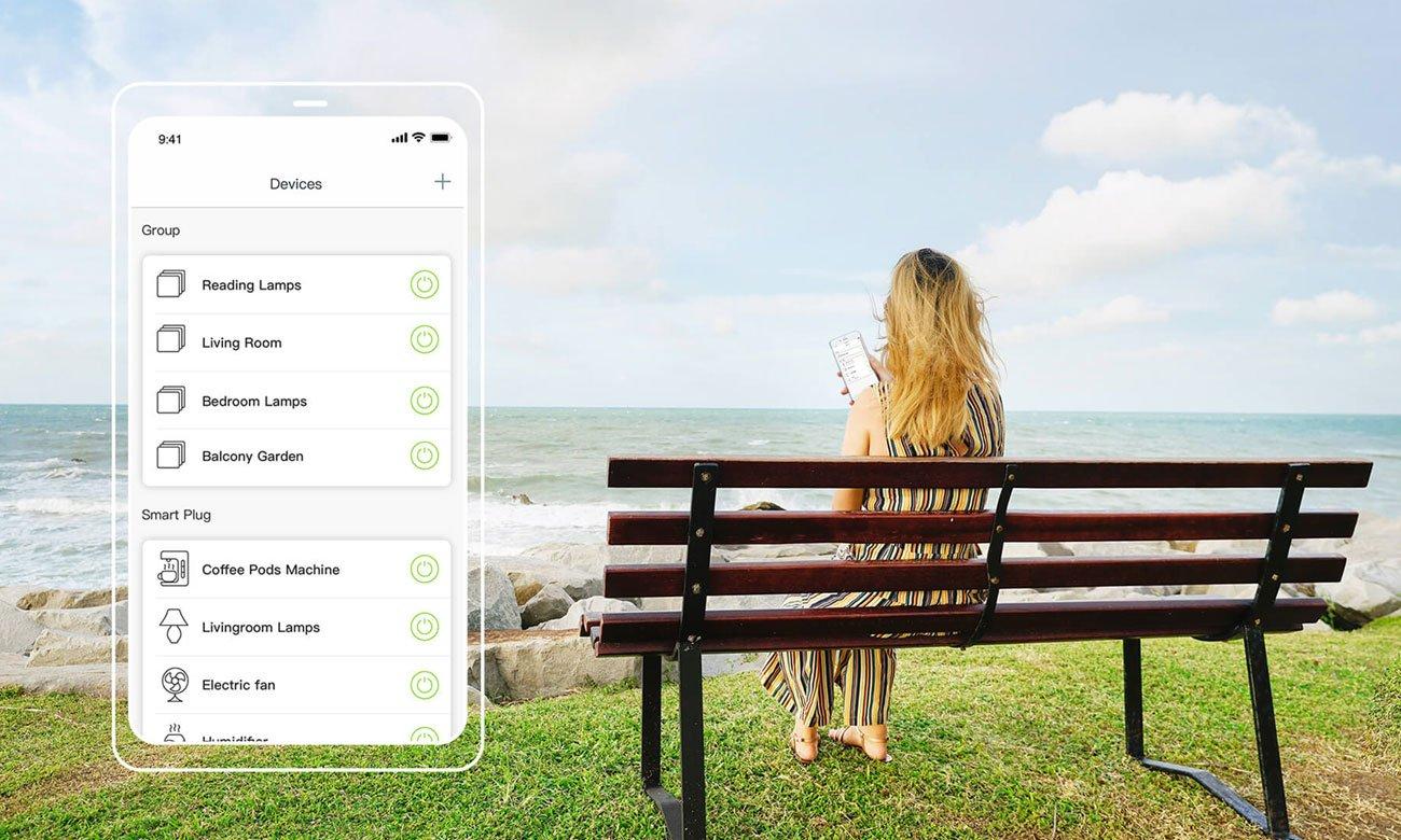 Gniazdo Smart Plug Tenda Beli SP9 3.68KW bezprzewodowe (Wi-Fi) z pomiarem