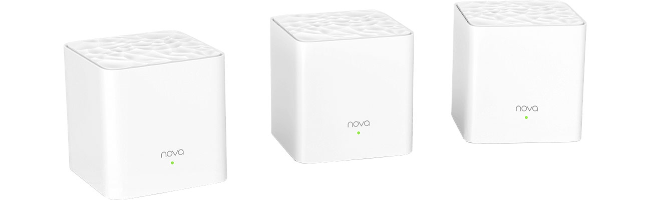 System Mesh Wi-Fi Tenda Nova MW3 (1200Mb/s a/b/g/n/ac)