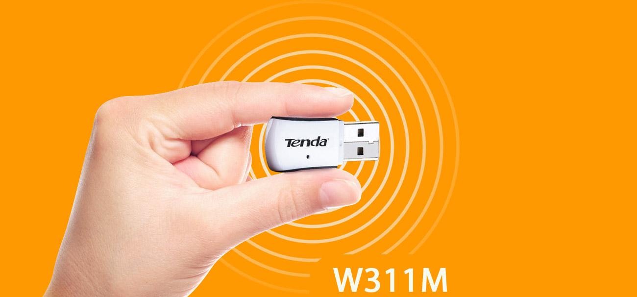 Bezprzewodowy adapter Wi-Fi Tenda W311M