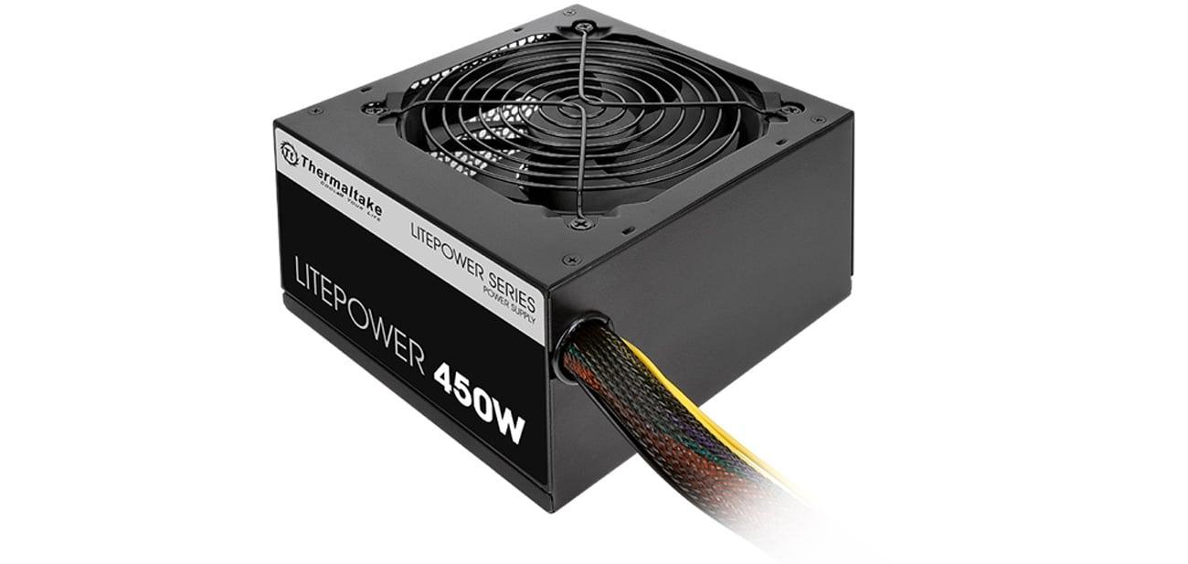 Zasilacz komputerowy Thermaltake 450W Litepower II Black BOX