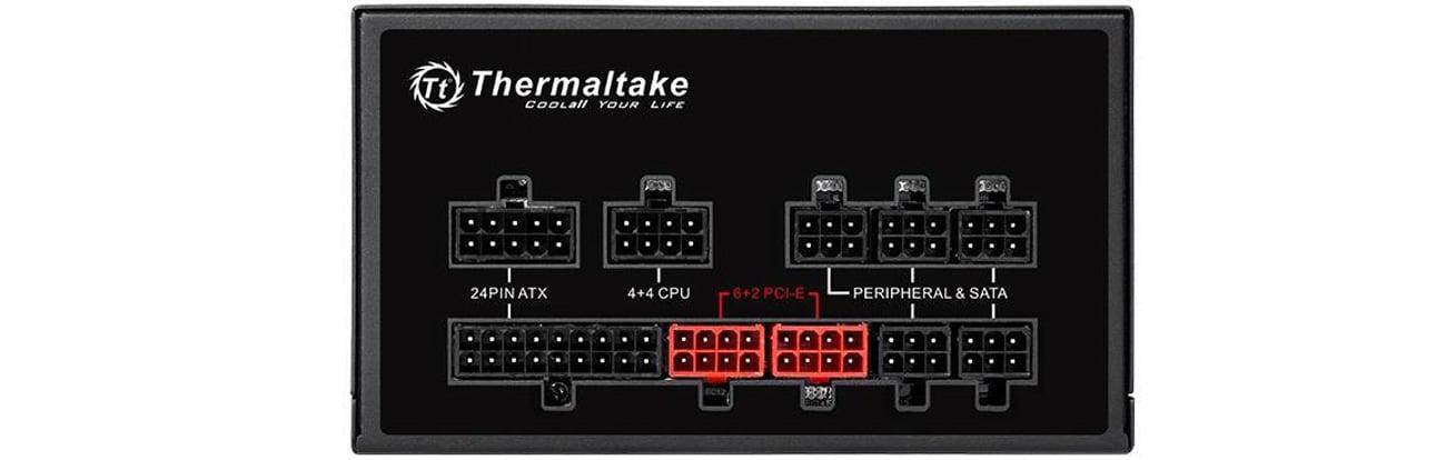 Thermaltake modularne okablowanie