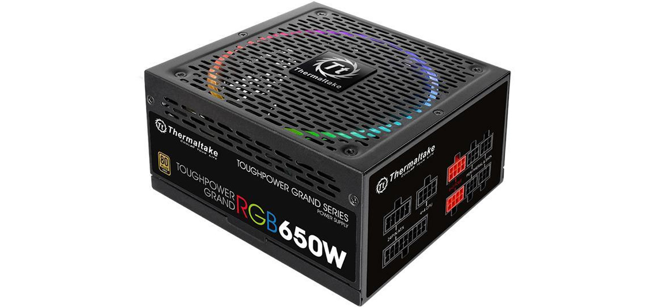 Thermaltake 650W Toughpower Grand Modular RGB 80+ Gold BOX