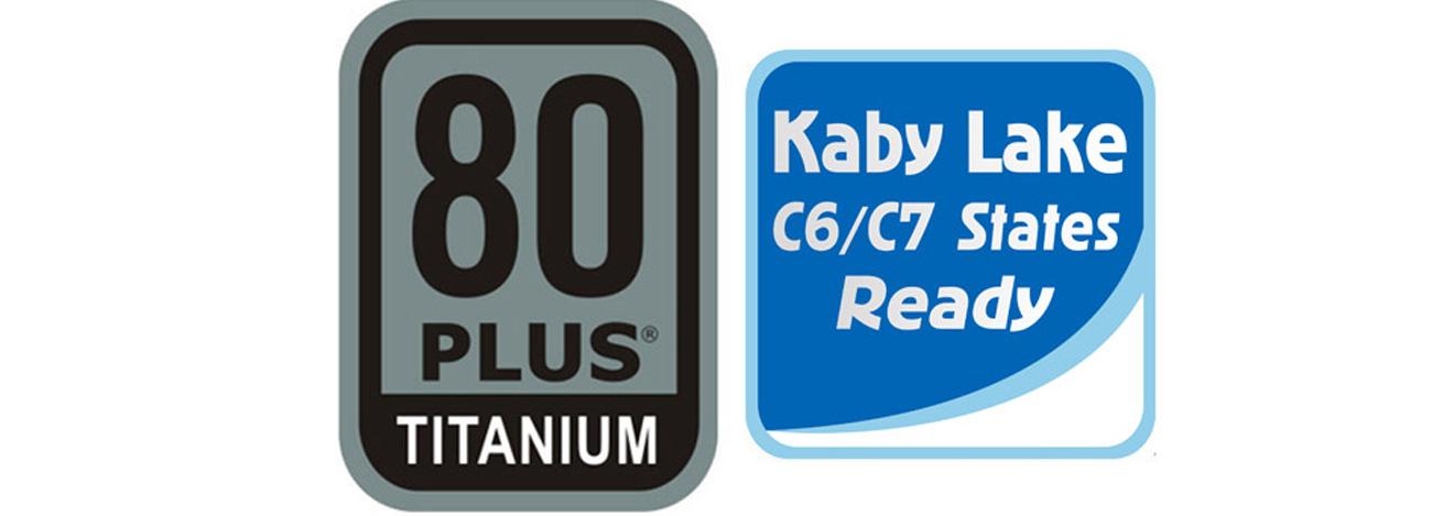 Certyfikat 80 PLUS Titanium