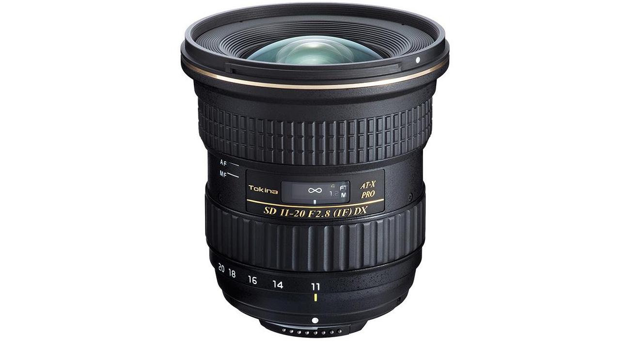 Obiektyw szerokokątny Tokina AT-X 11-20 f/2.8 PRO DX AF Nikon