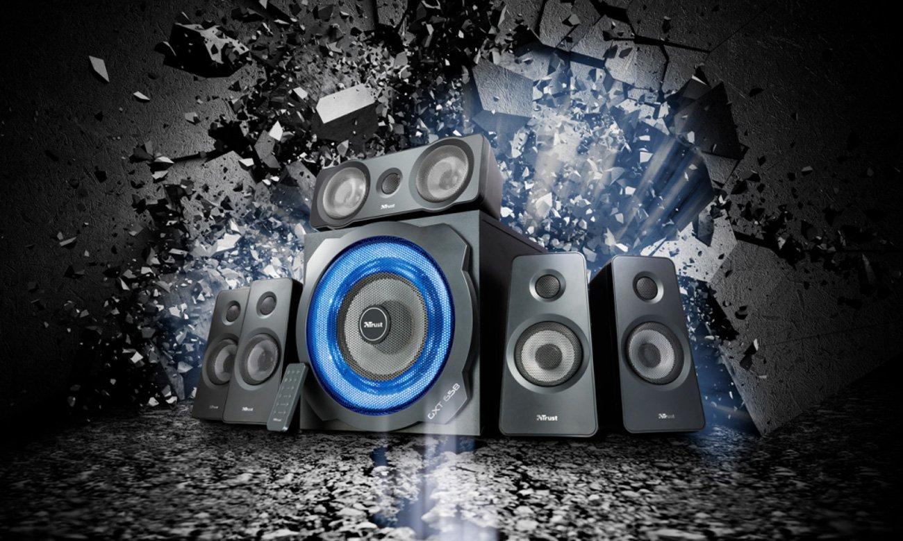 Trust 5.1 GXT 658 Tytan Surround Speaker System