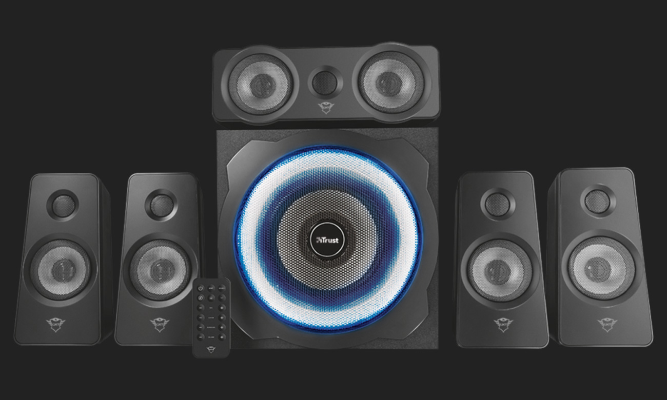Trust 5.1 GXT 658 Tytan Surround Speaker System