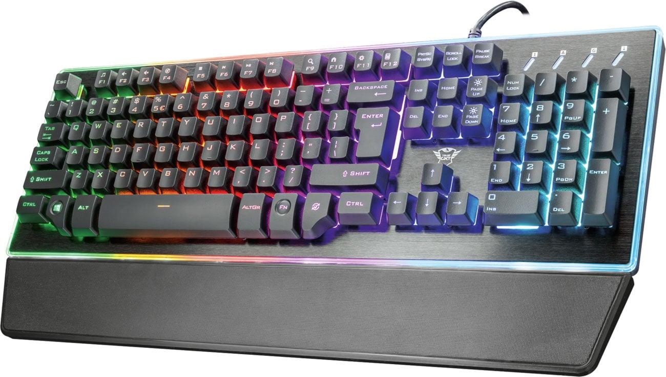 Trust GXT 860 Thura Semi-mechanical Keyboard Podkładka