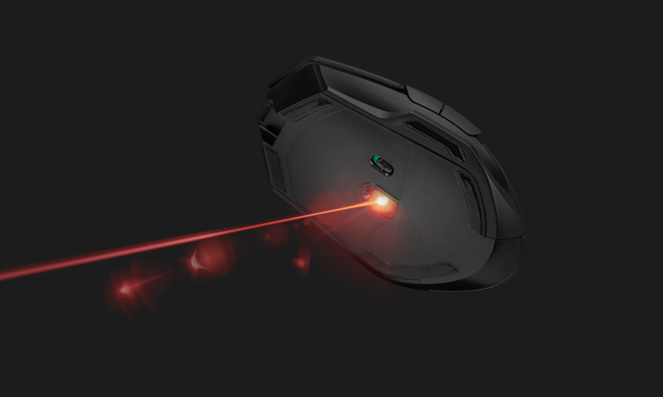 Trust GXT 161 Disan Wireless Gaming Mouse Sensor