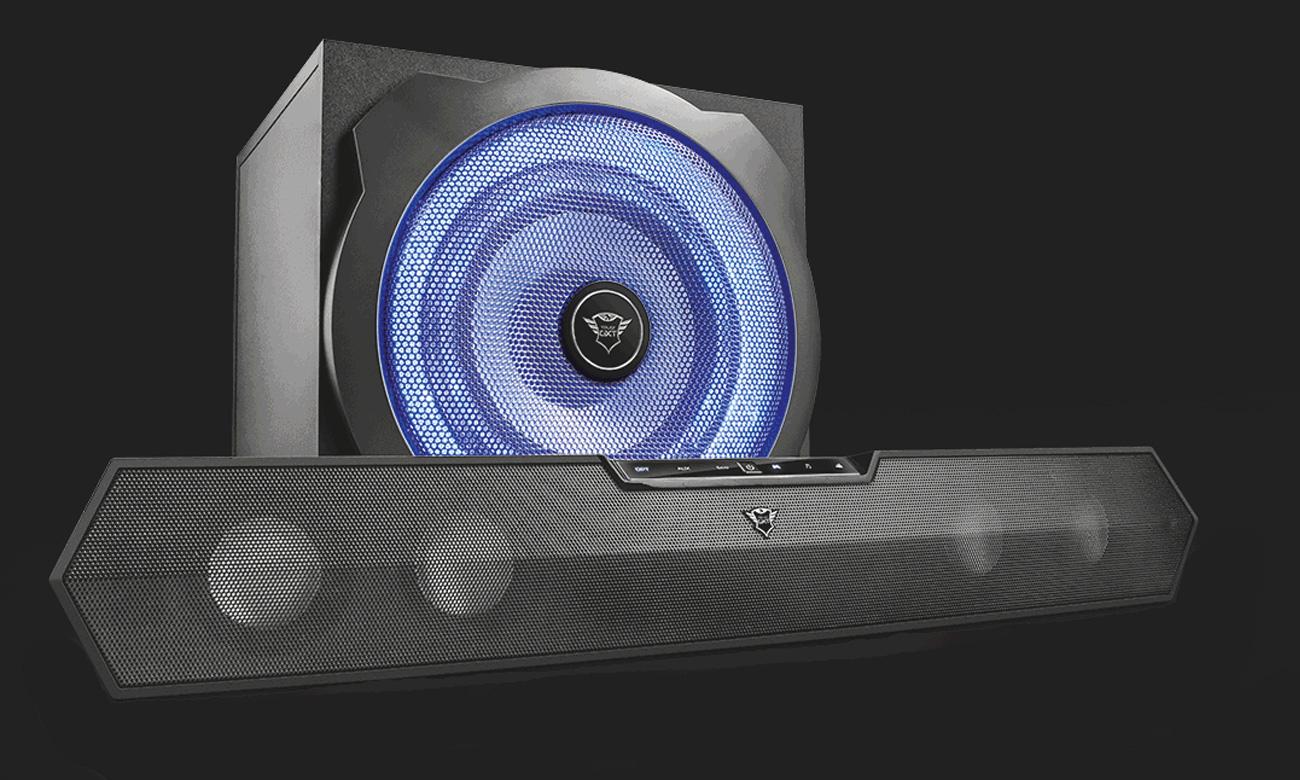 Trust 2.1 Tytan GXT 668 Soundbar Speaker Set