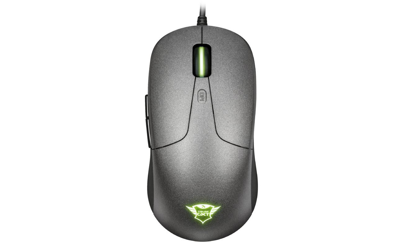 Trust GXT 180 Kusan Pro Gaming Mouse Widok Z Góry
