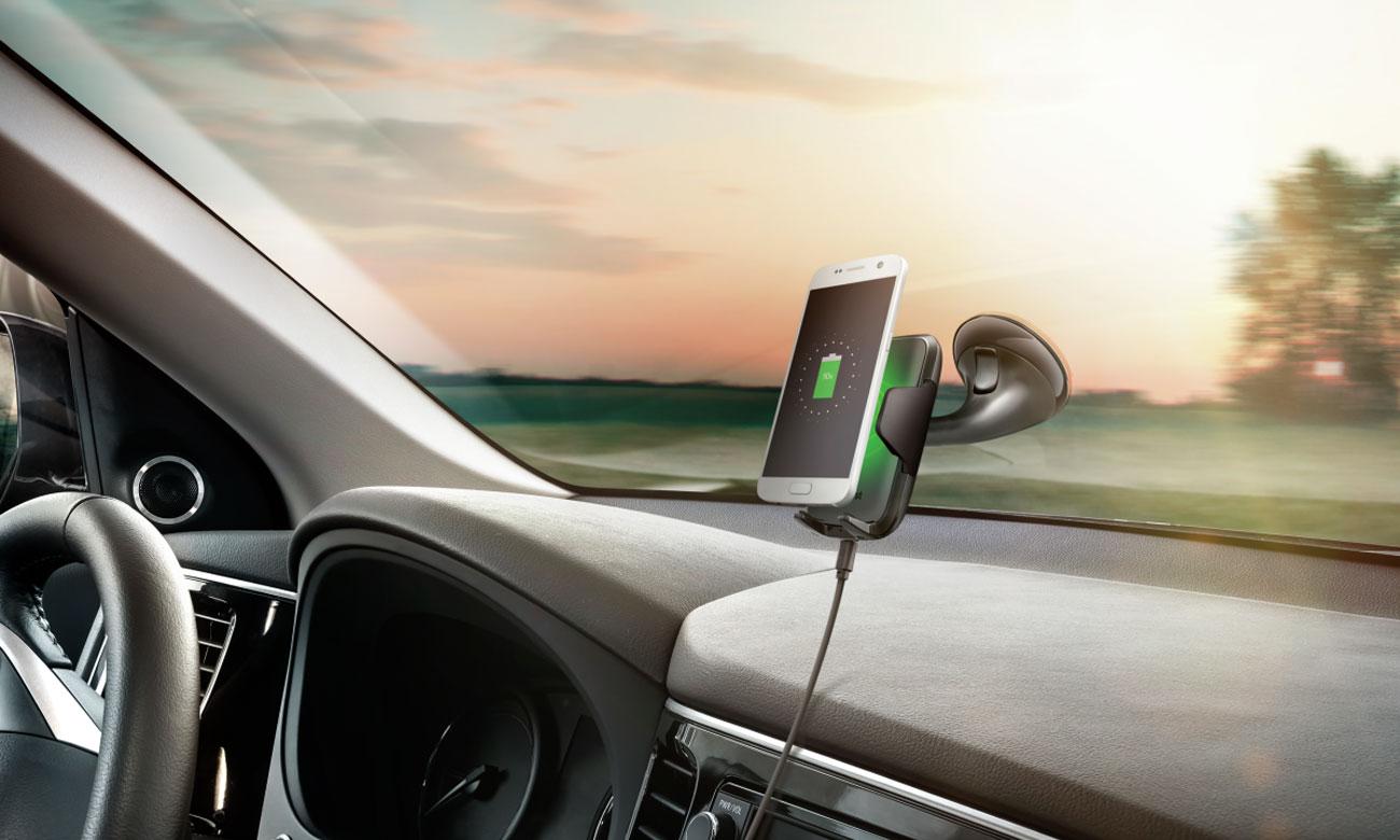 Uchwyt do smartfonu Trust Yudo 10W Fast Charge z Ładowaniem Indukcyjnym 3w1 23133