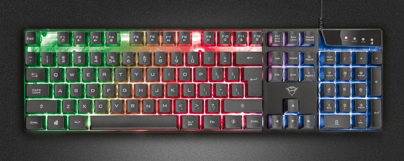 Graj i zwyciężaj z klawiaturą Trust GXT 835 Azor