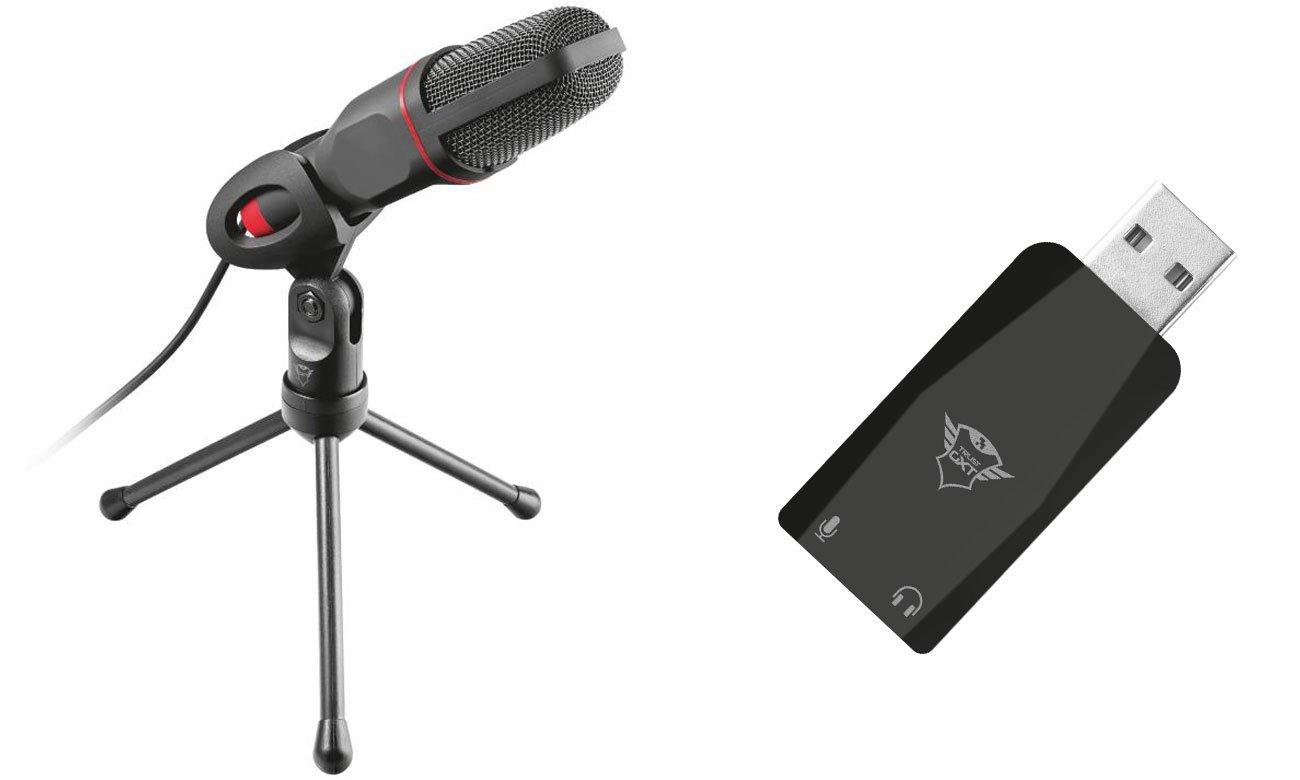 Mikrofon biurkowy Trust GXT 212 Mico USB