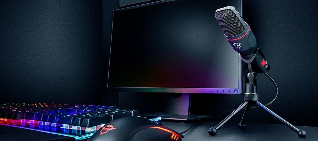 Świetny do streamowania i gamingu