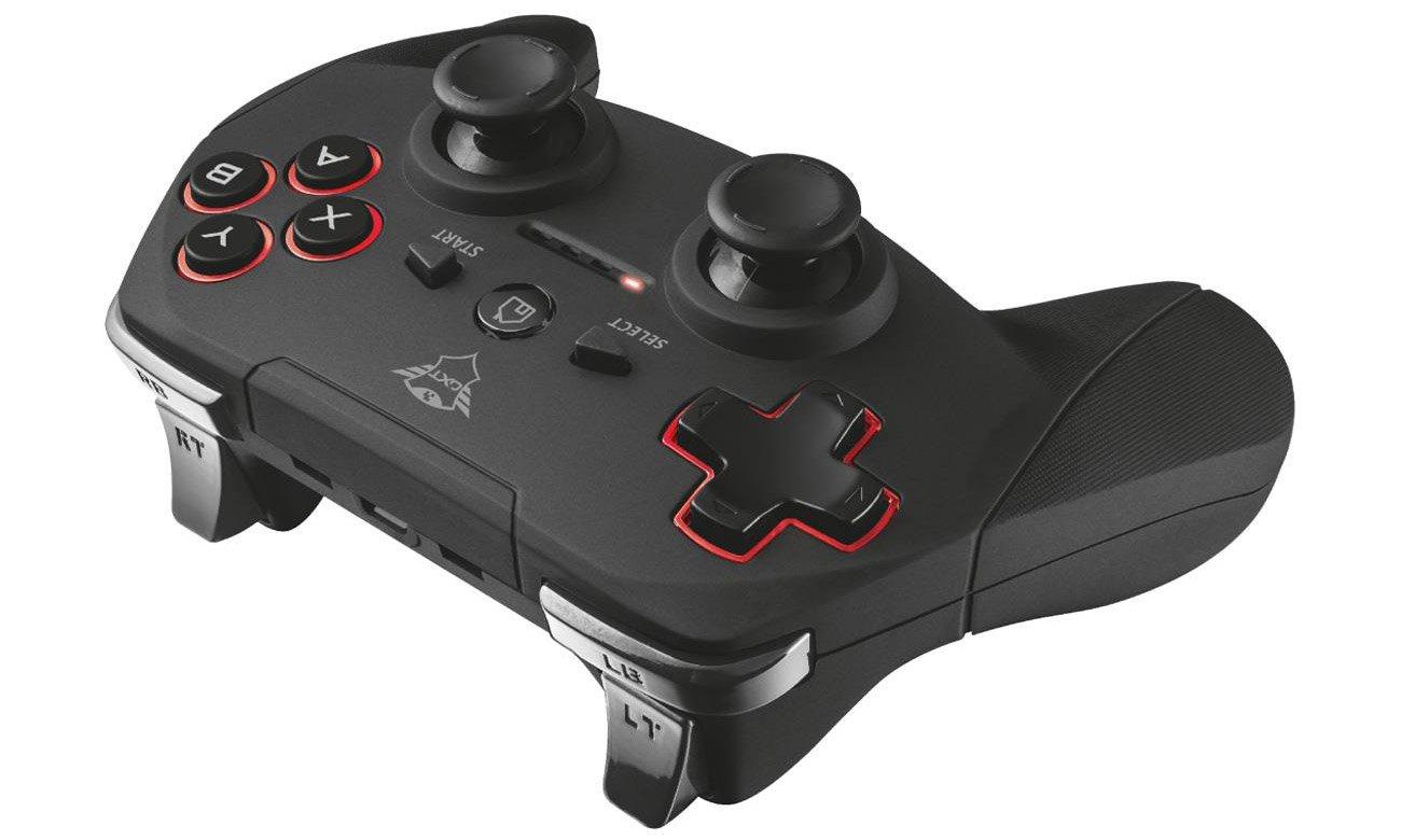 Trust GXT 545 Yula Wireless Gamepad Bezprzewodowy gamepad do PC i PS3