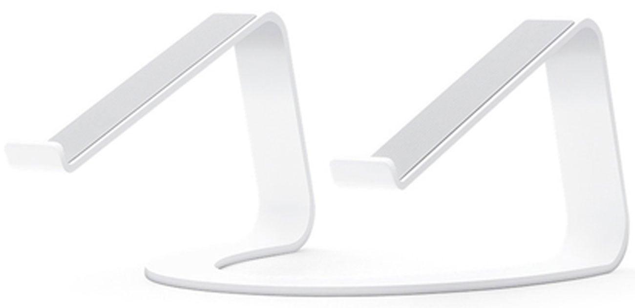 Podstawka chłodząca pod laptop Twelve South Curve o MacBook bialy