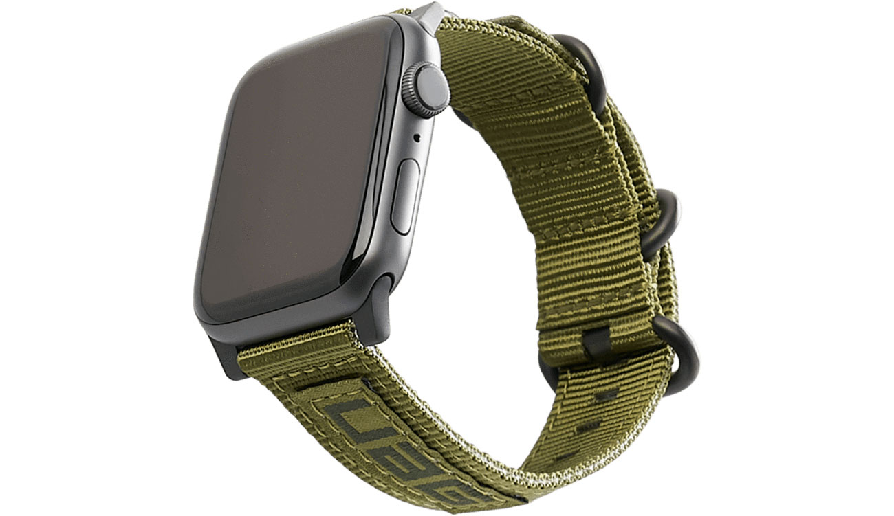 UAG Pasek Nylon Nato do Apple Watch 42/44 mm Olive 19148C114072