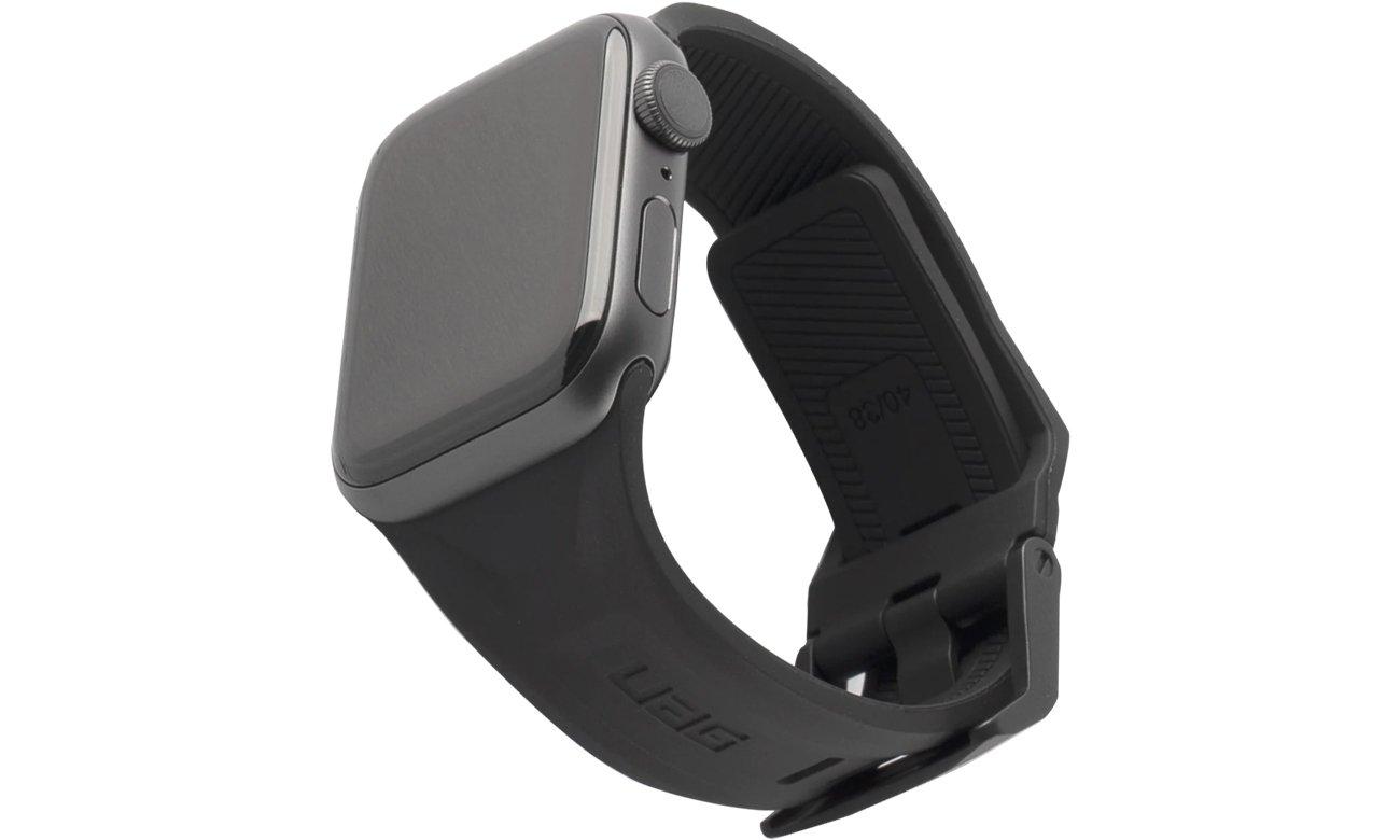 Pasek UAG Scout Silicone do Apple Watch Czarny