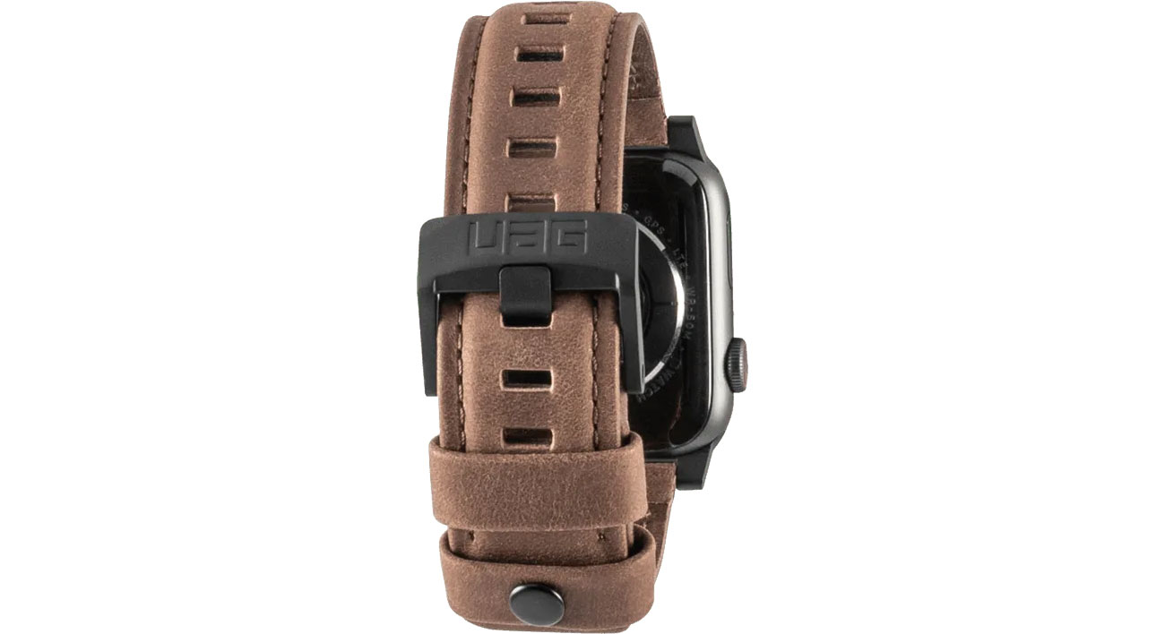 UAG Leather Watch Strap do Apple Watch