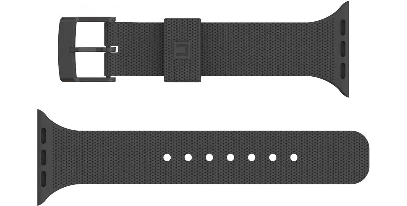 UAG Pasek Silikonowy [U] DOT do Apple Watch black 19248K314040