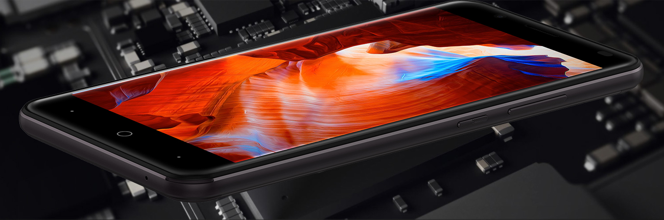 uleFone Tiger ekran HD 5.5