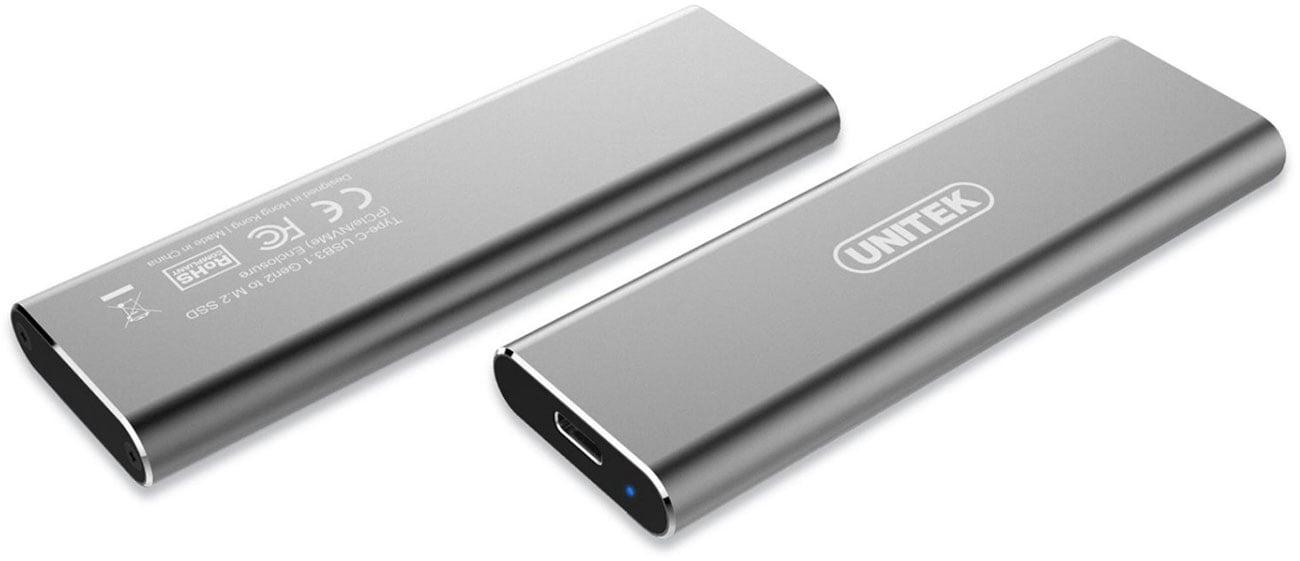 Obudowa do dysku m.2 Nvme (USB-C) Unitek S1201A