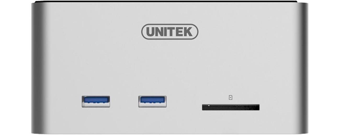 Unitek Y-1092 złącza USB i SD