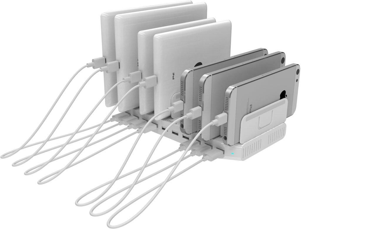 Unitek Stacja ładująca 10x USB 2.4A 96W Y-2172