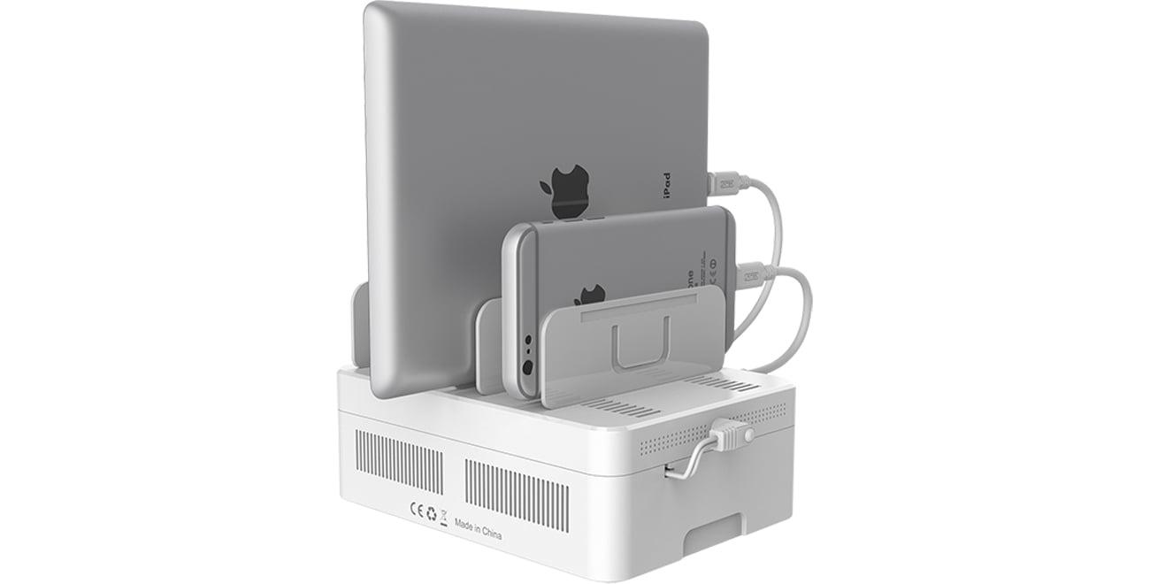 Unitek Stacja ładująca 6 x USB 2,4A 60W Y-2181
