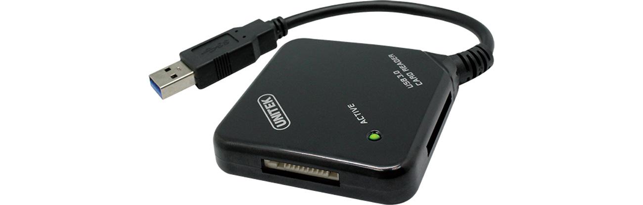 Unitek Y-3201 Czytnik kart pamięci All In One USB 3.0