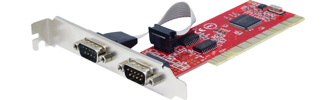 Unitek PCI Kontroler 2x RS-232 Y-7503
