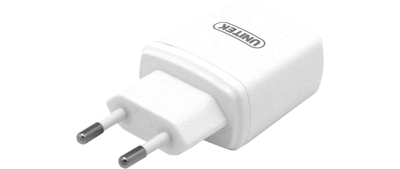 Ładowarka sieciowa Unitek 2 x USB 3,4 A