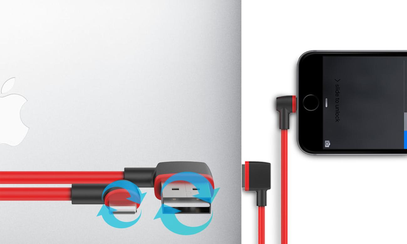 Kątowy kabel Unitek USB-Lightning Kompatybilność