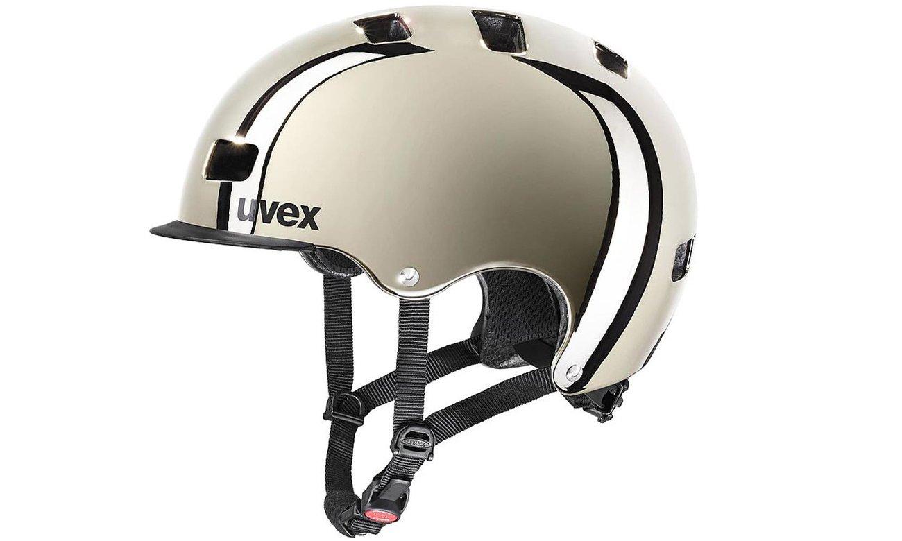 Kask ochronny UVEX Hlmt 5 Bike Pro Chrome 58-61 cm
