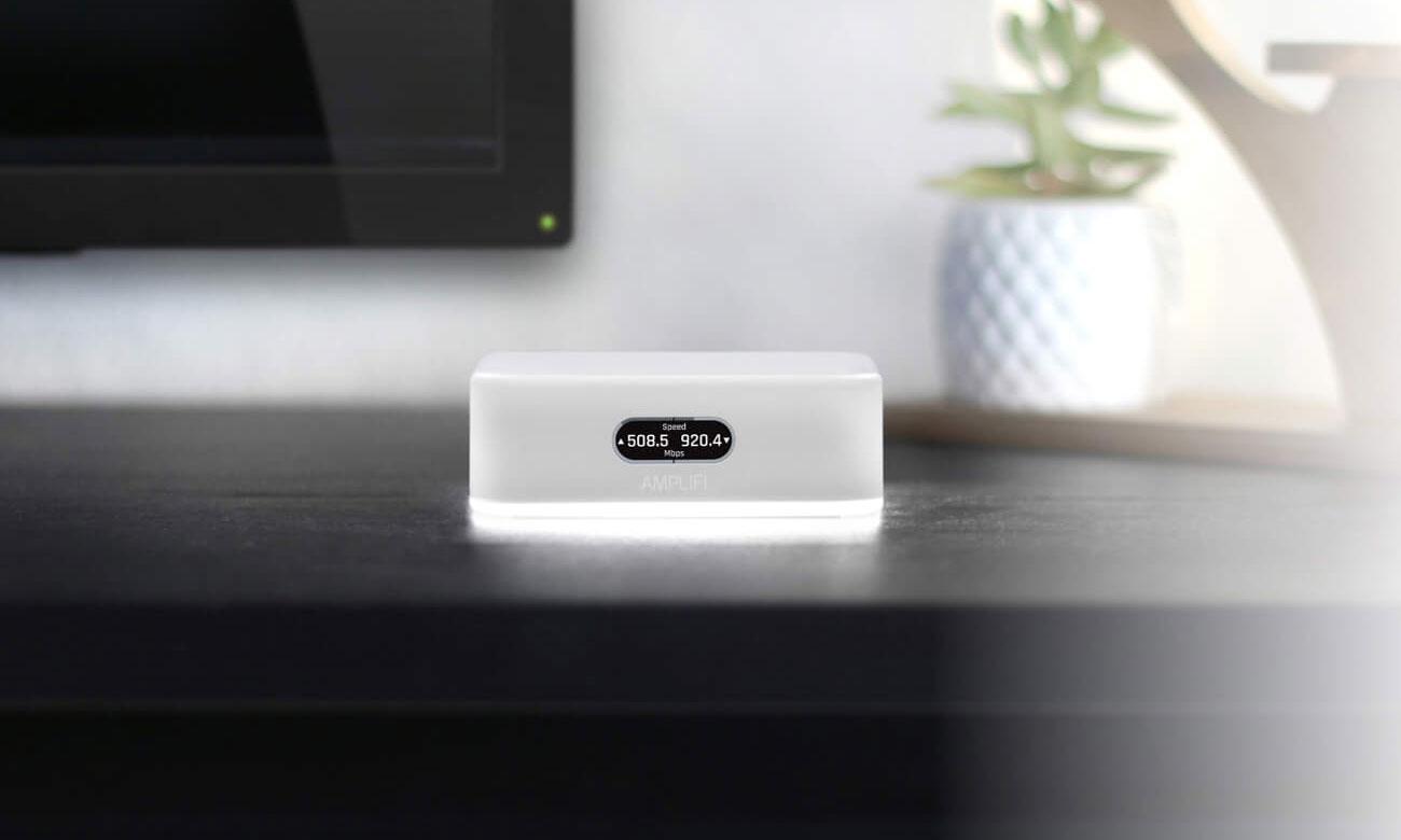 Ubiquiti AmpliFi Instant Mesh Router - Podświetlenie, wyświetlacz