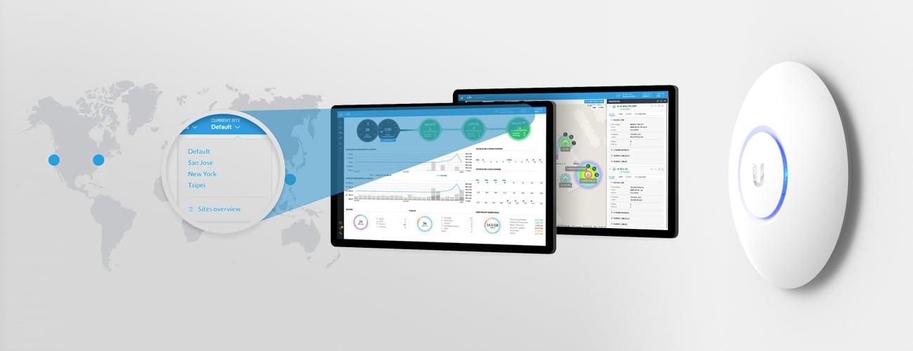 UniFi Controller - konfiguracja i zarządzanie punktami dostępowymi UniFi