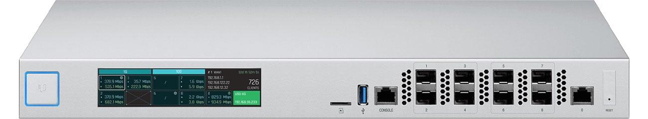 Firewall Ubiquiti UniFi USG-XG-8 8x1000Mbit/10Gbit SFP+ 1x1000Mbit
