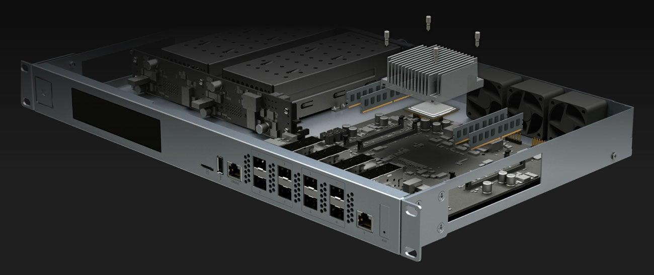 Ubiquiti UniFi USG-XG-8 Wnętrze urządzenia