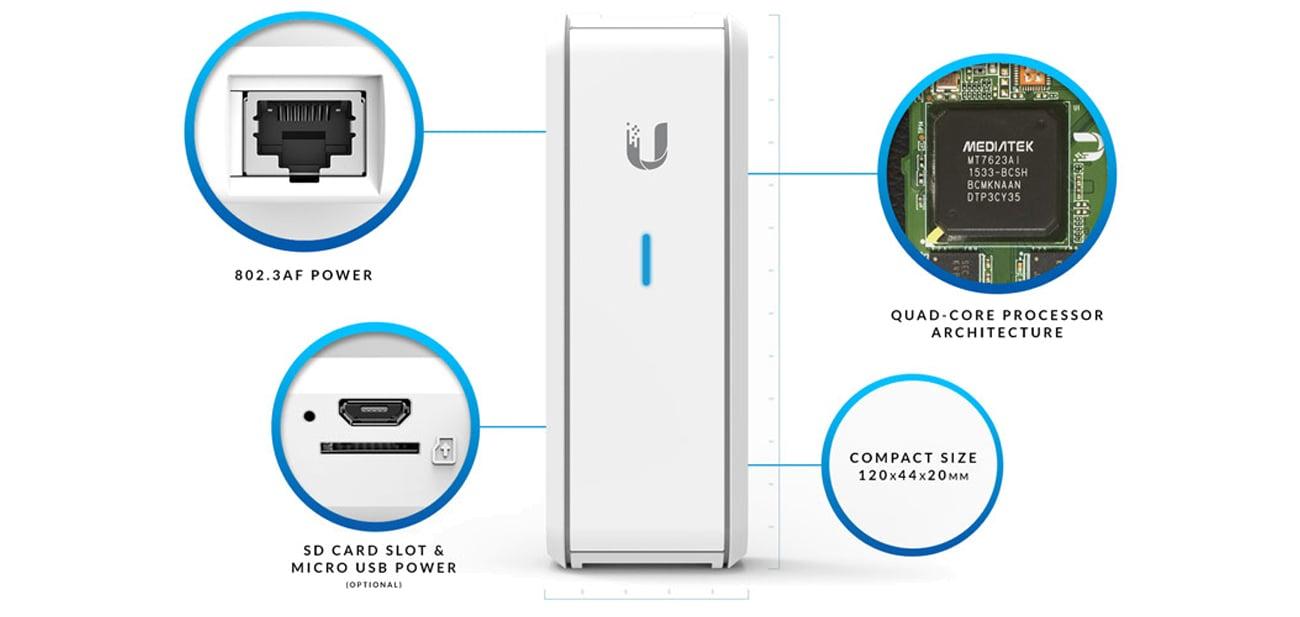 Ubiquiti UniFi Controller Cloud Key UC-CK bezpieczeństwo czterordzeniowy procesor