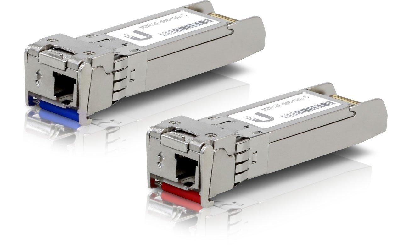 Moduł SFP Ubiquiti UF-SM-10G-S Single-Mode 10Gb/s SFP+ 1xLC (2 szt.)